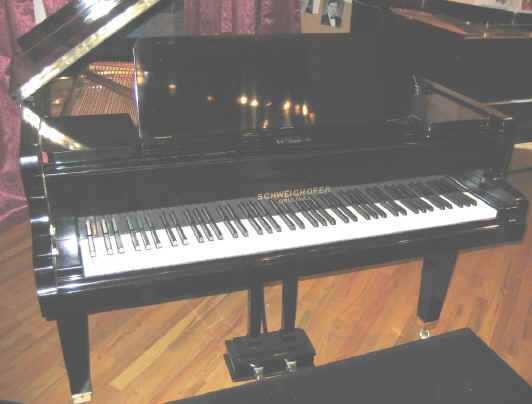 Schweighofer for Grandi case a un piano